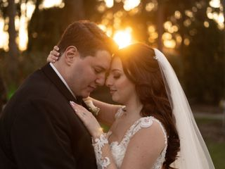 The wedding of Allene and Michael