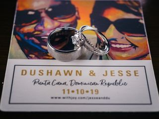 The wedding of Jesse and DuShawn 1