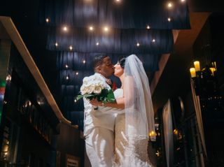 The wedding of Jesse and DuShawn