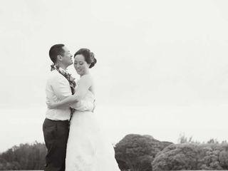 The wedding of Marc and Lauren