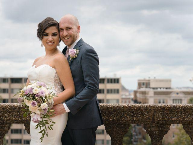 The wedding of Yelena and Jake