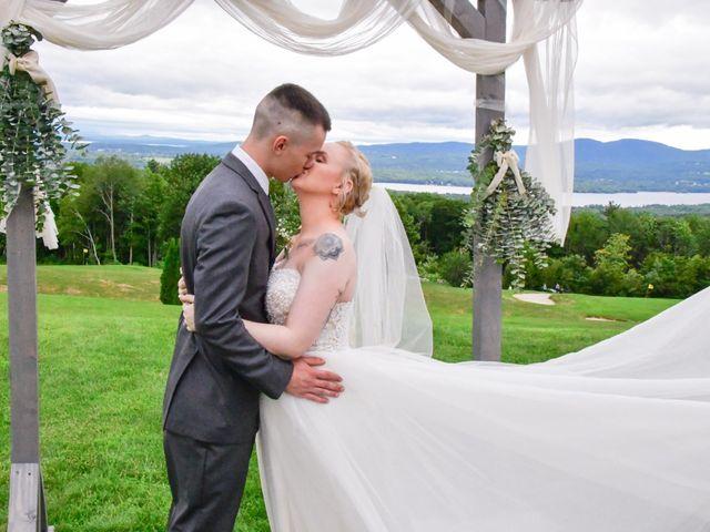 Jordan and Trina's Wedding in Sanbornton, New Hampshire 1