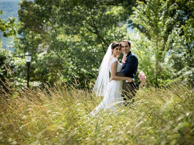 The wedding of Carolyn and Yaset