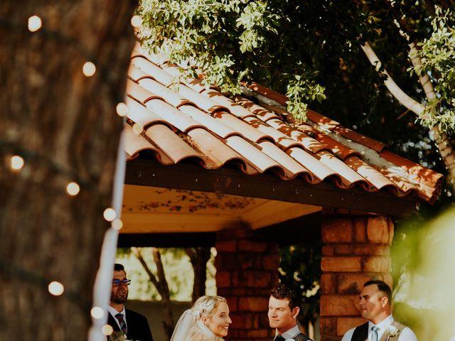Josh and Alexa's Wedding in Chandler, Arizona 11