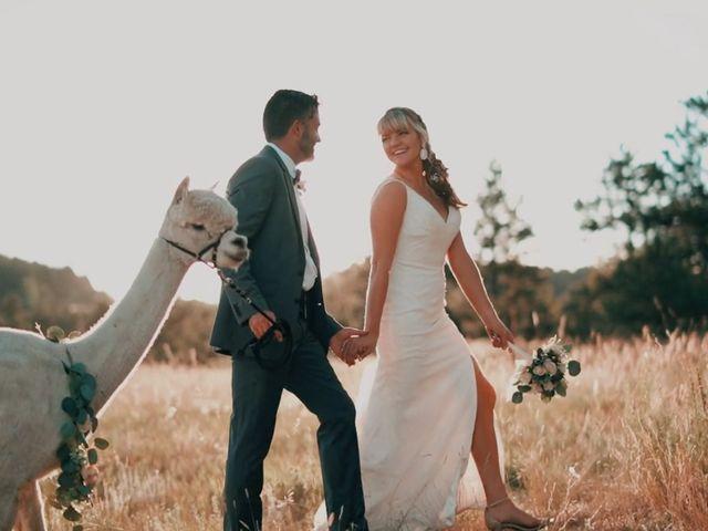 The wedding of Brad and Janae