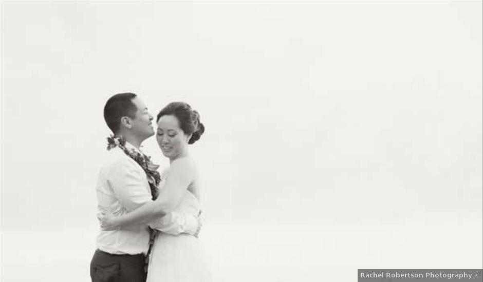 Lauren and Marc's Wedding in Haleiwa, Hawaii