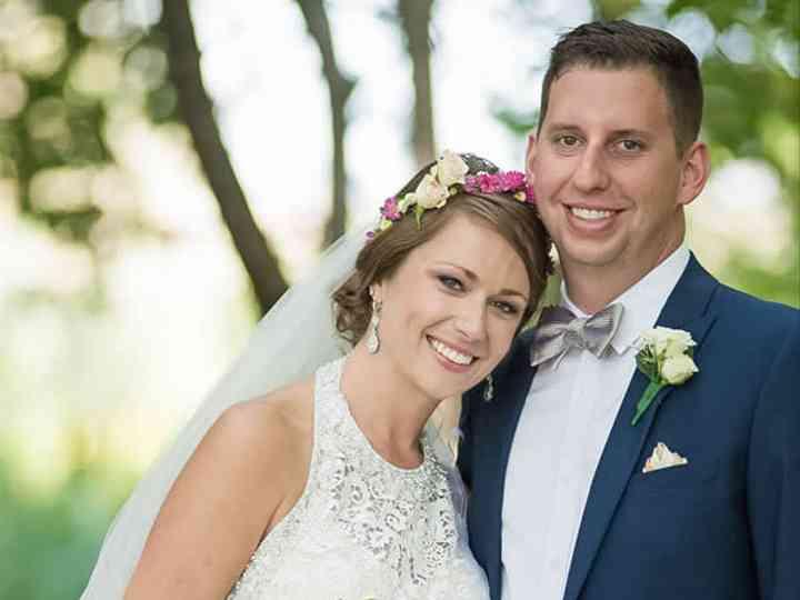 The wedding of Jack and Haley