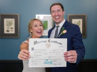 The wedding of Michele and Doug