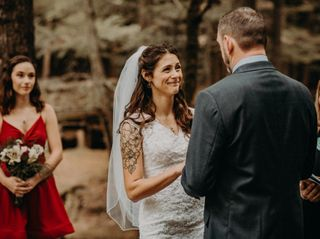 The wedding of Tori and Paul