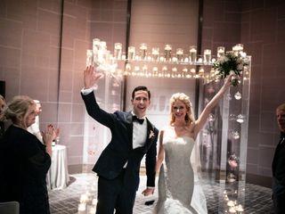 The wedding of Caroline and Jon