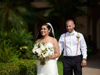 The wedding of Fabiola and Steven 1
