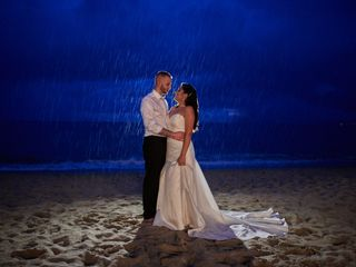 The wedding of Fabiola and Steven