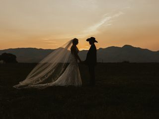 The wedding of Lindy and Clay