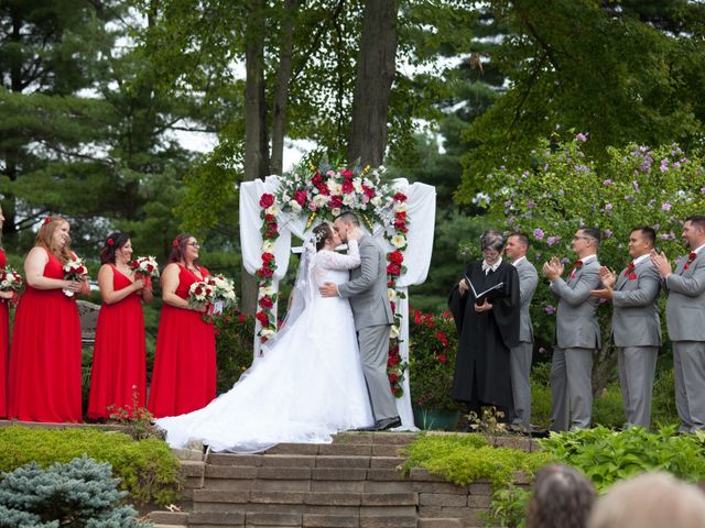 Tony and Kim's Wedding in Agawam, Massachusetts 35