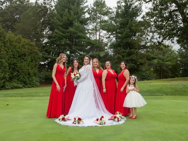 Tony and Kim's Wedding in Agawam, Massachusetts 44