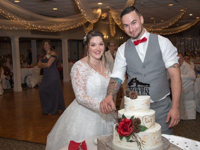 Tony and Kim's Wedding in Agawam, Massachusetts 62