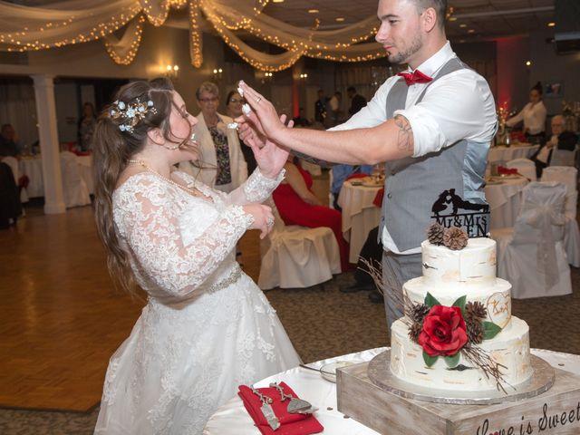 Tony and Kim's Wedding in Agawam, Massachusetts 64