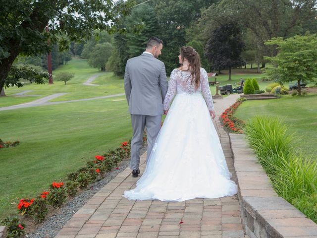 Tony and Kim's Wedding in Agawam, Massachusetts 71