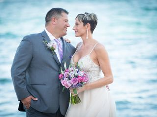 The wedding of Dan Bonder and Ashli Weis