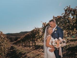 The wedding of Mike and Kayla
