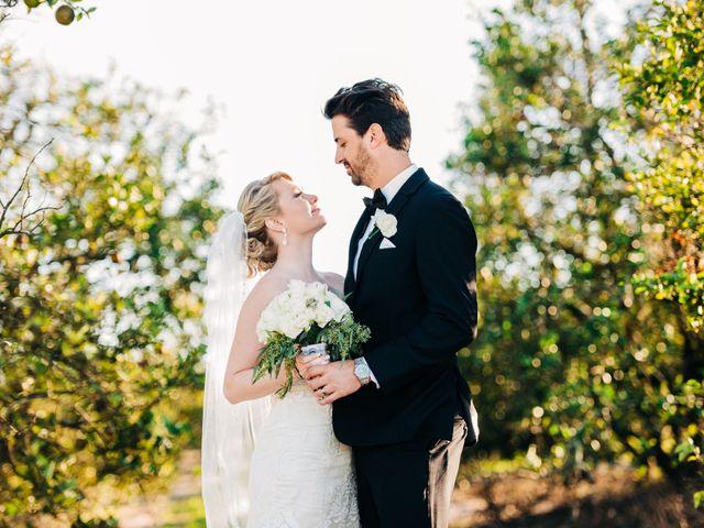 The wedding of Rachel and Garrett