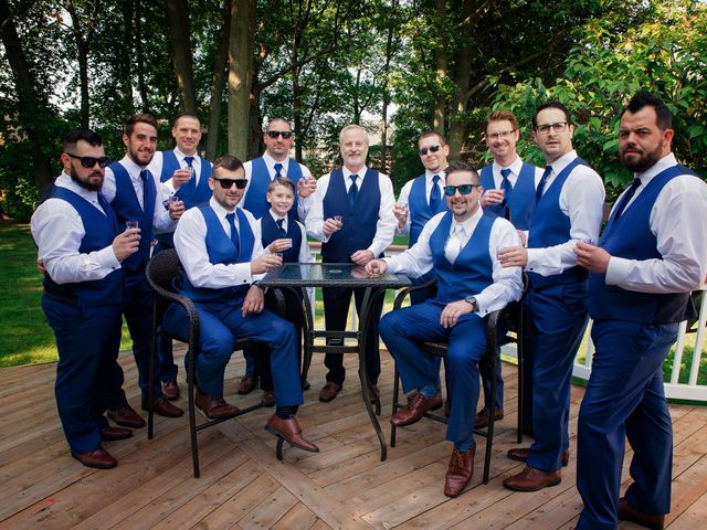 Danny and Sam's Wedding in Shelby Charter Township, Michigan 40