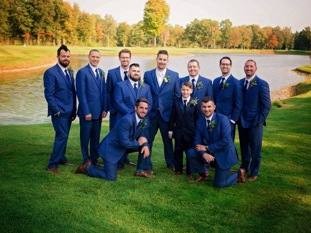 Danny and Sam's Wedding in Shelby Charter Township, Michigan 42