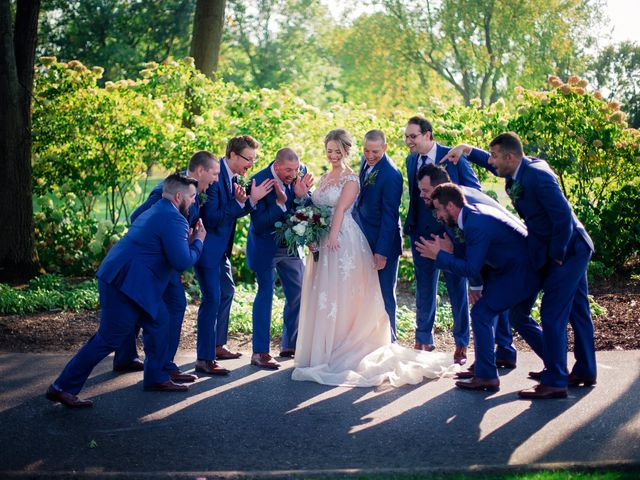 Danny and Sam's Wedding in Shelby Charter Township, Michigan 44