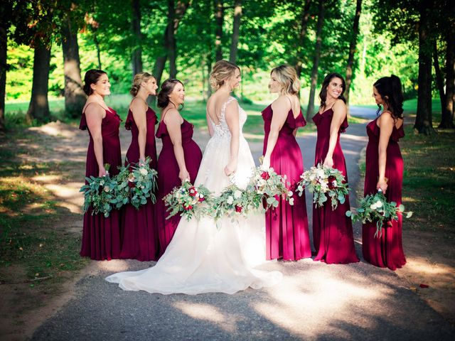 Danny and Sam's Wedding in Shelby Charter Township, Michigan 48