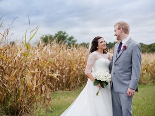 The wedding of Scottland and Jeannine