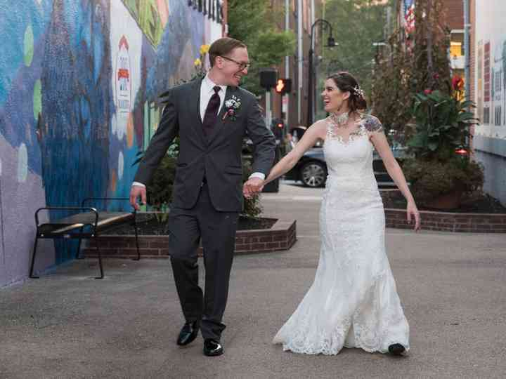 The wedding of Amberly and Tom