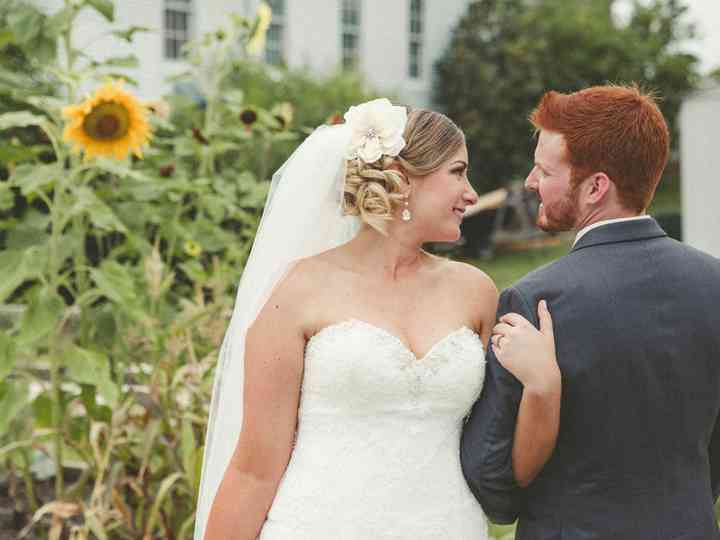 The wedding of Adam and Tracy