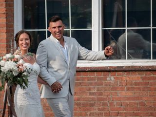 The wedding of Victoria and Ryan Lang