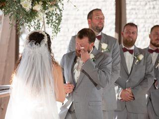 The wedding of Amanda and Andrew 1