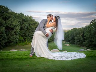 The wedding of Amanda and Andrew