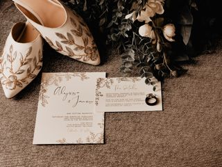 The wedding of James and Alyssa 1