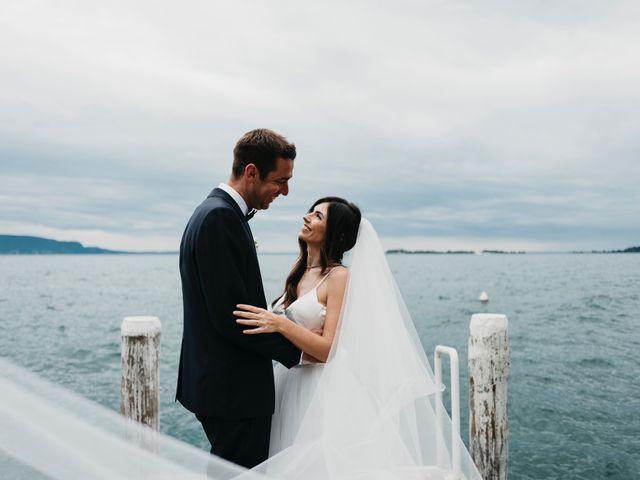 The wedding of Sara and James
