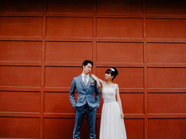 The wedding of Ryoko and Kenta