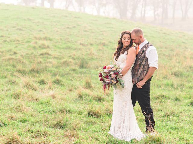 The wedding of Rebekah and Jason