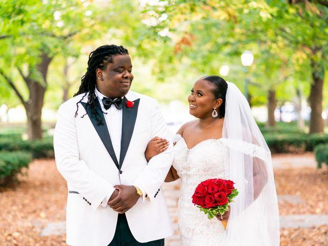 The wedding of Linda and Bayo
