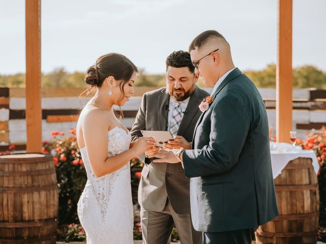 Richard and Emily's Wedding in San Marcos, Texas 43