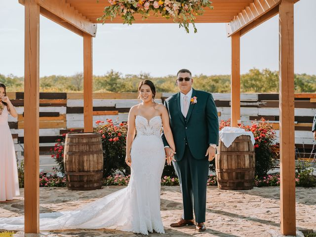 Richard and Emily's Wedding in San Marcos, Texas 47