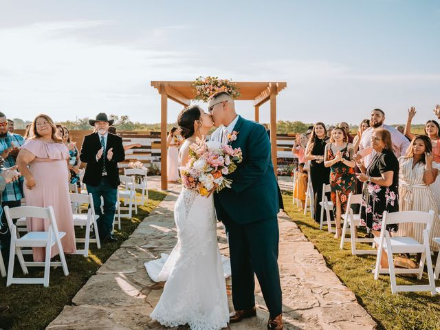 Richard and Emily's Wedding in San Marcos, Texas 50