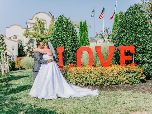 Kaitlin and Tyler's Wedding in Bealeton, Virginia 13