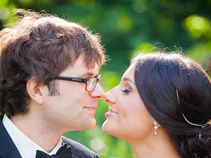 The wedding of Isaac and Tina