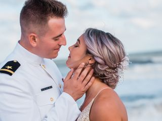 The wedding of Hunter and Alex