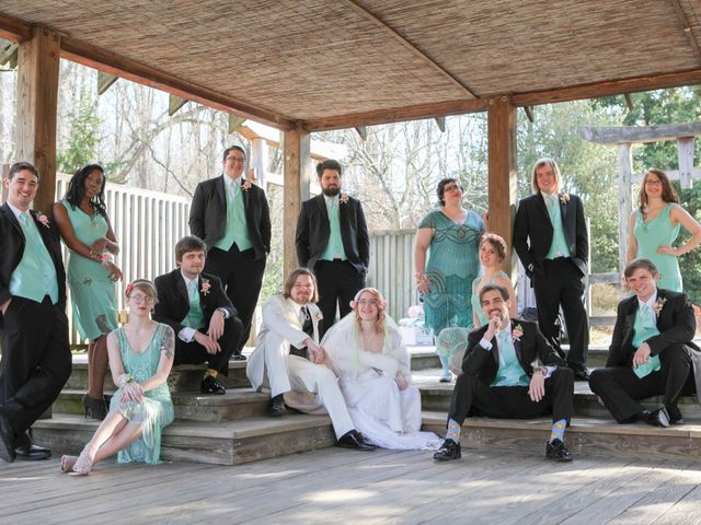 Laura and Austin's Wedding in Rockville, Maryland 7
