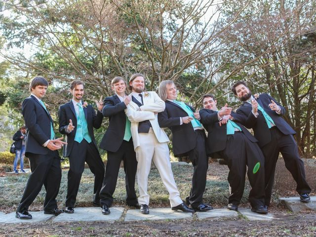 Laura and Austin's Wedding in Rockville, Maryland 8