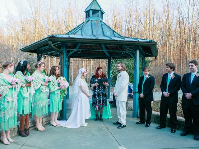 Laura and Austin's Wedding in Rockville, Maryland 11