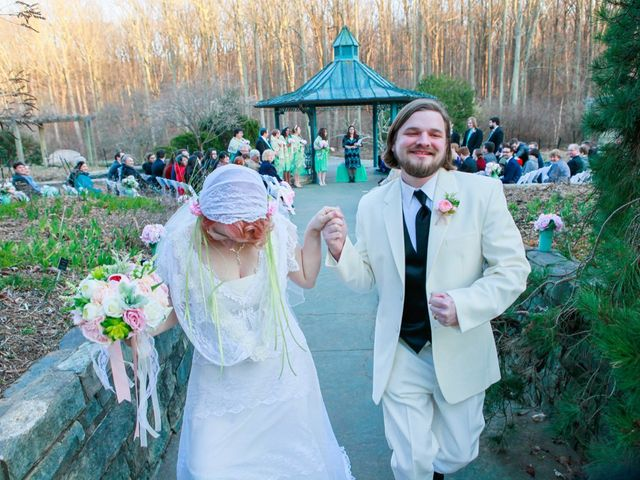 Laura and Austin's Wedding in Rockville, Maryland 16